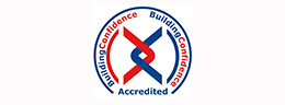 Building confidence accredited logo