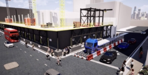 Digital construction video still