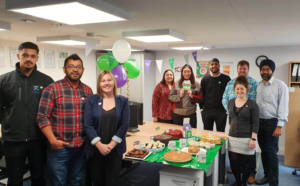 Macmillan Coffee Morning at DGP Logistics