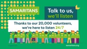 Samaritans banner